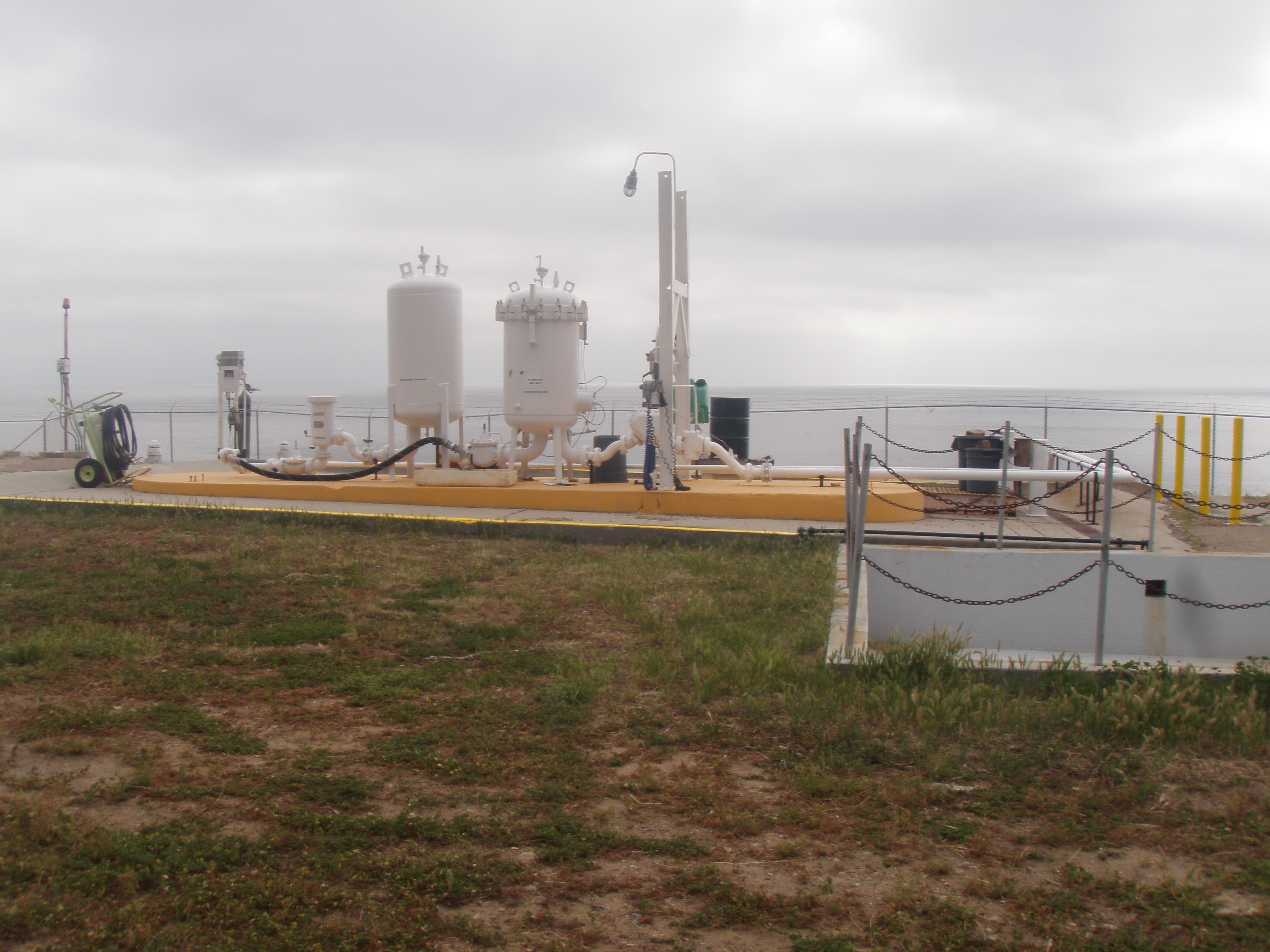 San Clemente Island Jet Fuel Storage Project, San Clemente Island CA